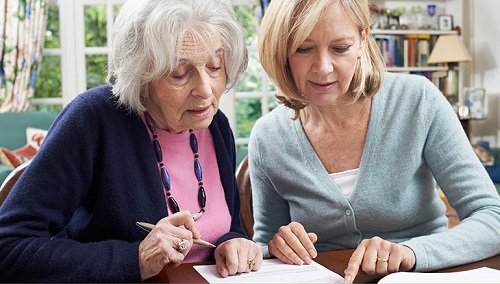 wills-and-probate-neighbour-helping-senior-woman AH Page Solicitors